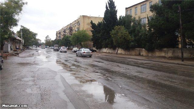 Yağışdan sonrakı Bakı…  -  Foto+Video