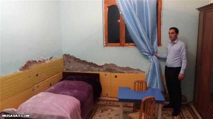 Atası komada olan jurnalistin evindən -  Reportaj