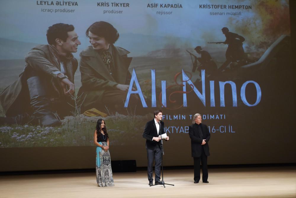 Prezidentin ailəsi film təqdimatında -   Fotolar