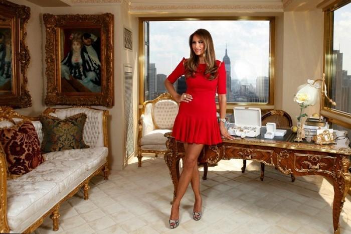 ABŞ-ın model olan yeni birinci xanımı -  Fotolar