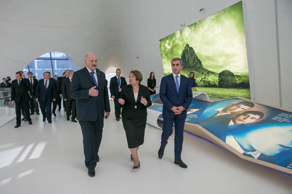 Lukaşenko Heydər Əliyev Mərkəzində  -  Fotolar