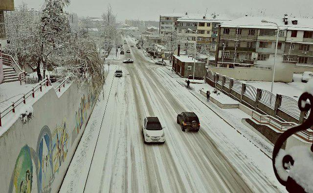 Qarabağ qar içində  -  Fotolar
