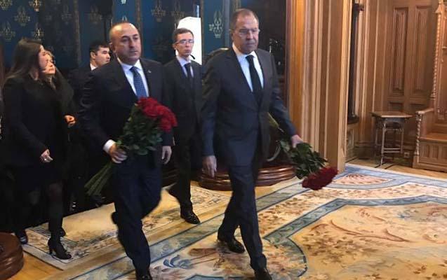 """Lavrov və Çavuşoğlu görüşdü -  """"Hər kəs cəzasını alacaq..."""""""
