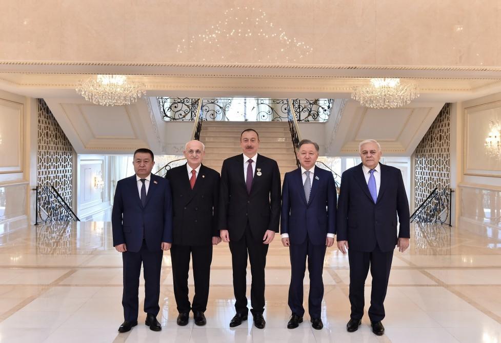 İlham Əliyev medalla təltif olundu