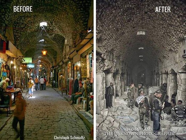 Suriya: əvvəl və indi  -  Fotosessiya