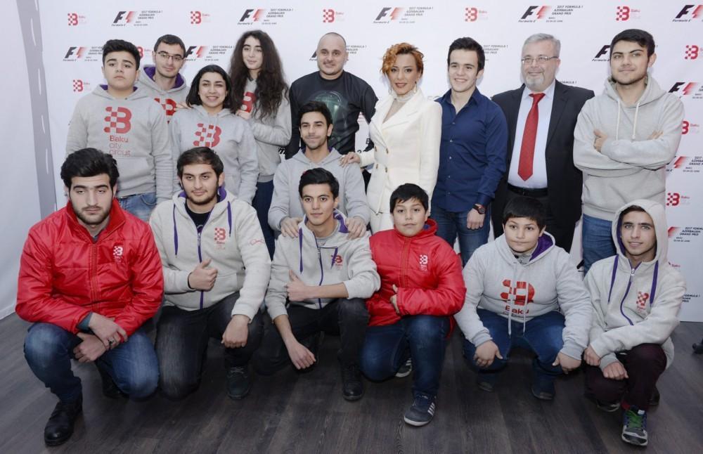 Formula-1 Azərbaycan Qran-prisinin rəsmi elçiləri - Fotolar