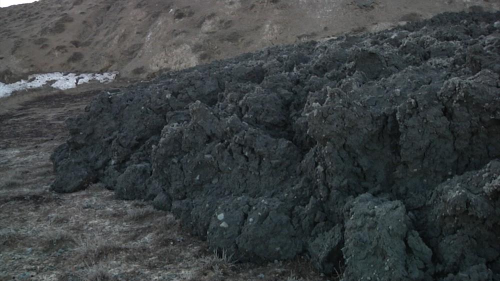 Qaradağda püskürən vulkandan  -  Fotolar + Video