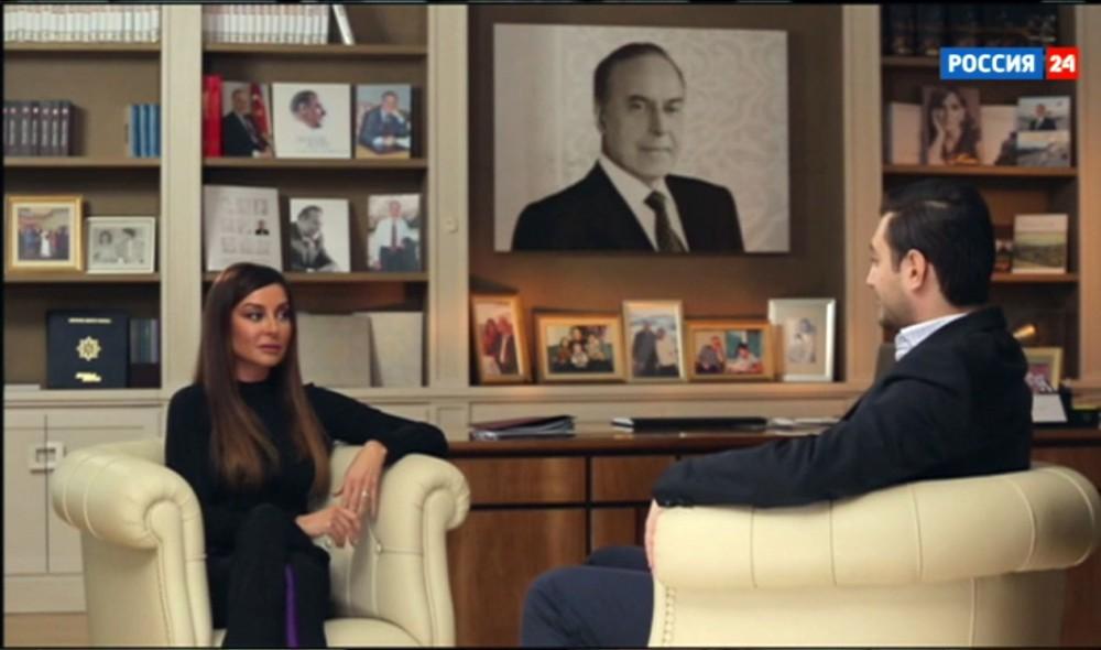 """""""Anamı 27 yaşında itirdim, çox ağır idi..."""" -  Mehriban Əliyeva"""
